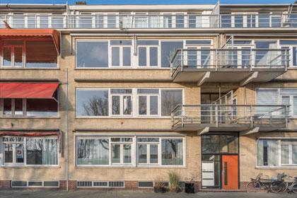 Appartementen met een balkon
